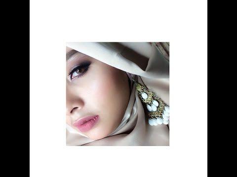 EID Makeup & Hijab Tutorial - YouTube