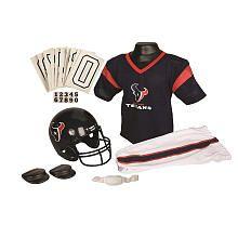 NFL Texans Uniform Set - Small