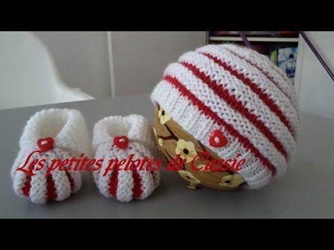 Un bonnet à la fois original, joli, et confortable pour bébé. Ici le lien du tutoriel des chaussons citrouille : https://www.youtube.com/watch?v=a2aL4_92euA ...