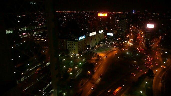 Plaza Italia, aerial dron