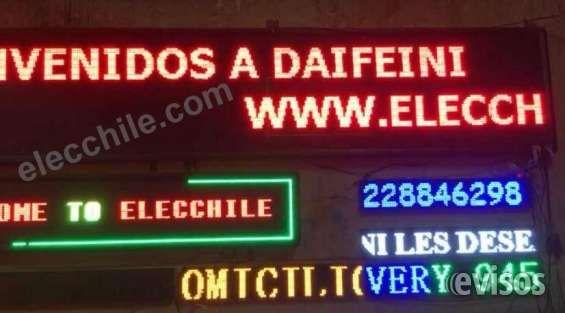 letrero electronico programable  Fabricamos letreros electrónicos led, variedad de col ..  http://quinta-normal.evisos.cl/letrero-electronico-programable-id-601695