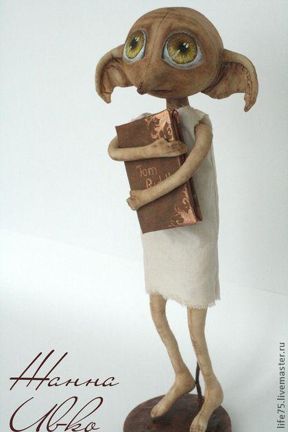 """Коллекционные куклы ручной работы. Ярмарка Мастеров - ручная работа Добби """"Гарри Поттер"""". Handmade."""