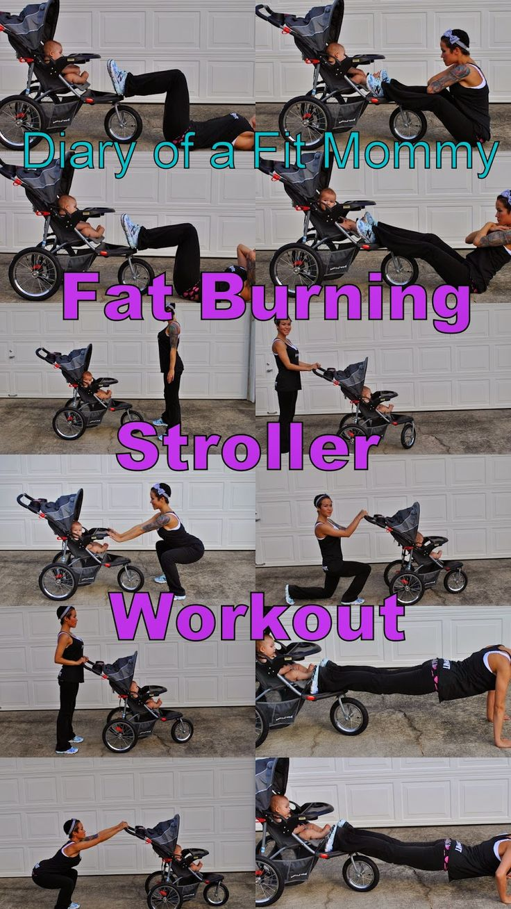 Diary of a Fit Mommy's Fat Burning Stroller Workout