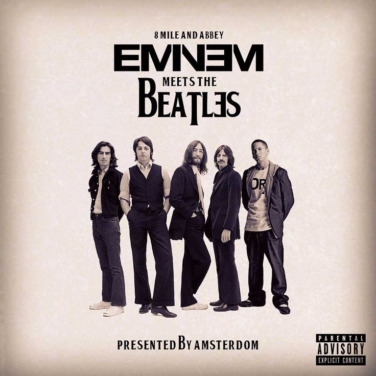 Redditor Creates Full Album Mashup of The Beatles And Eminem