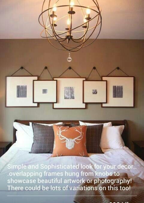Overlapping picture frames
