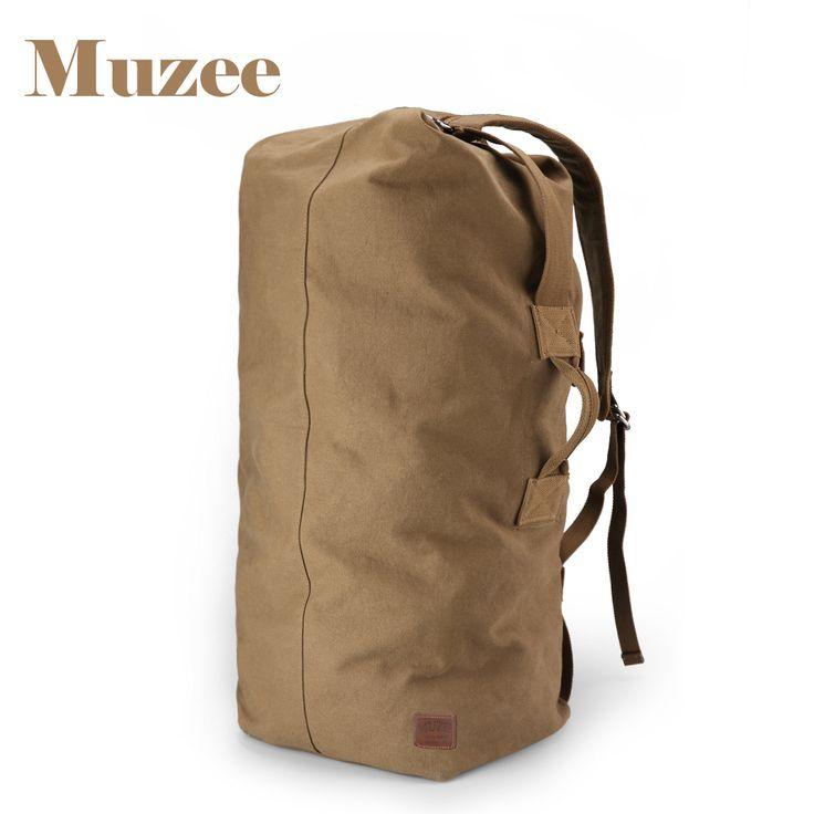 Backpacks. Muzee Huge Travel Bag Large Capacity Men backpack  Canvas Weekend Bags Multifunctional Travel Bags. #Backpacks