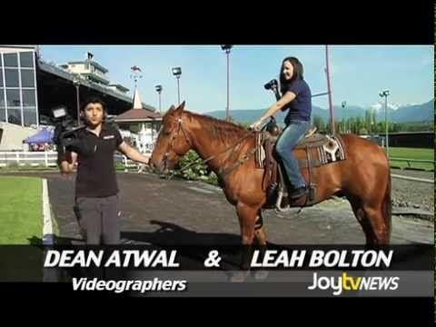 New Stride Thoroughbred on Joy TV News