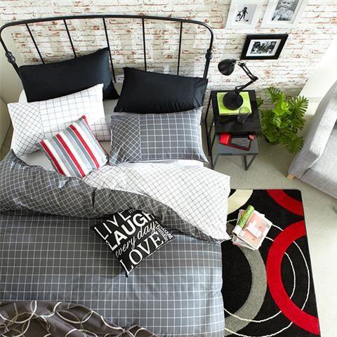 Queen Bed 'Trent' Quilt Cover Set | Kmart