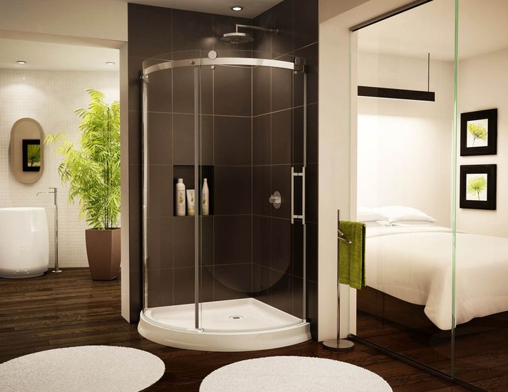 7 best shower door images on Pinterest | Shower doors, Glass showers ...