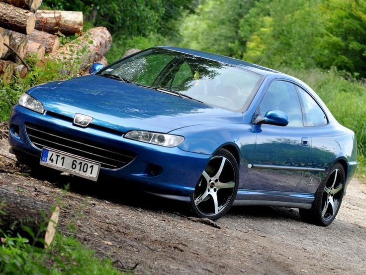 Family Car Peugeot 406 Coupe