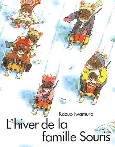 L'hiver la famille souris, Kazuo Iwamura