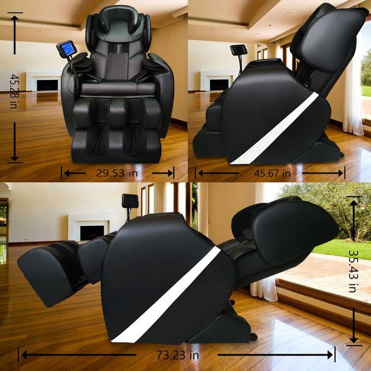 Massage chair recliner electric zero gravity full body
