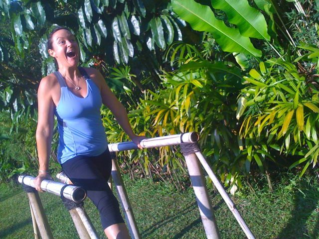 We get outdoors and we have fun with our Michelle Bridges 12wbt members at Sharing Bali.