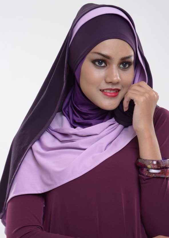 jilbab model fidela twist harga Rp 80.000,00