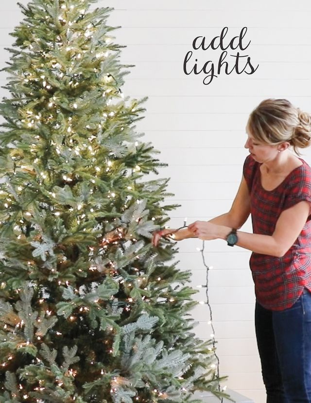 How to Decorate a Christmas Tree in 5 Simple Steps | Remodelaholic ...