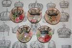 Crown magnets from Caswellandcompany.com  Perfect stocking stuffers for Christmas