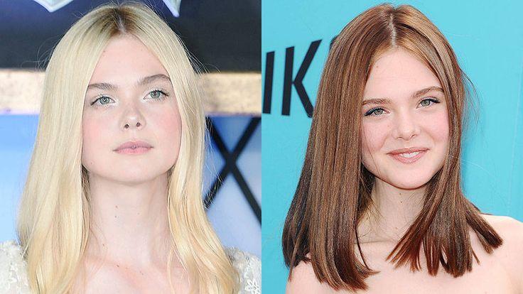 Color Wars: Blonde vs Brunette Celebrity Hair Poll - Elle Fanning