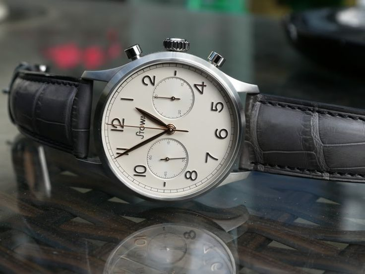 Stowa Chronograph 1938 Cream Matt