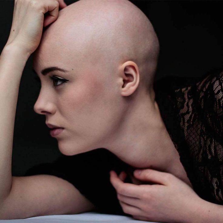 Videos of woman with shaved heads