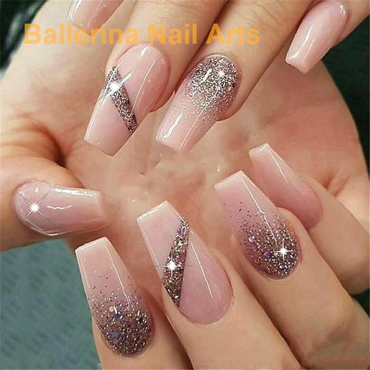 Angesagte Designs in Ballerina nails #naildesign – Nägel | nails