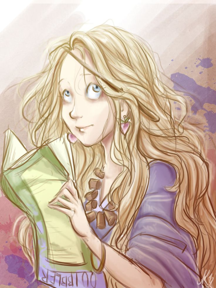 Luna Lovegood by ~LordSiverius
