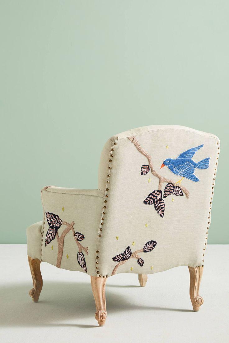 Slide View: 4: Treescape Dorrance Chair, Birds