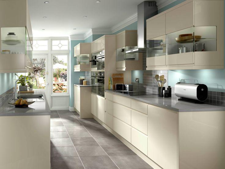 Kitchen Ideas Cream Gloss 9 best kitchen ideas images on pinterest | cream kitchens, kitchen