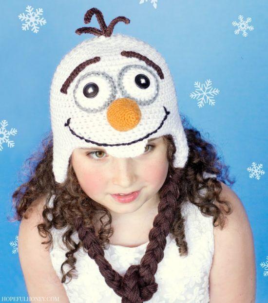 Frozen Olaf Crochet Hat Free Pattern