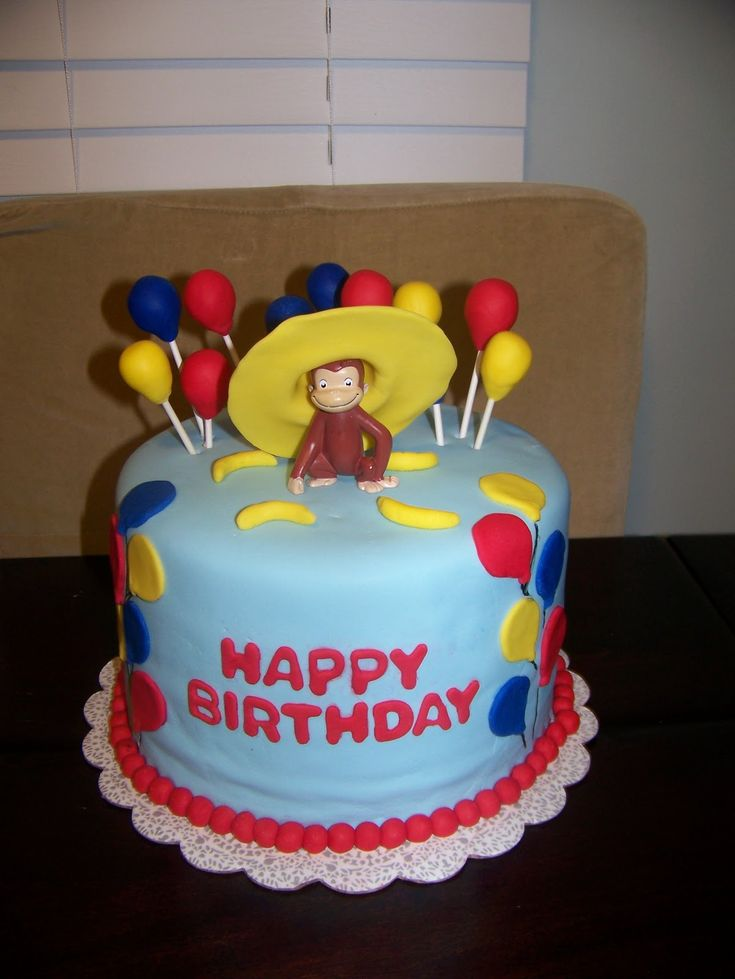 Image detail for -Curious George Cake