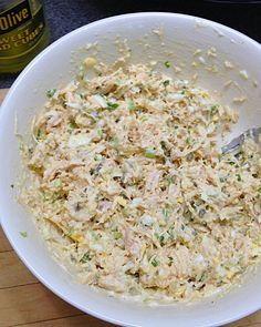 A truly fine Southern Chicken Salad made the old-fashion way
