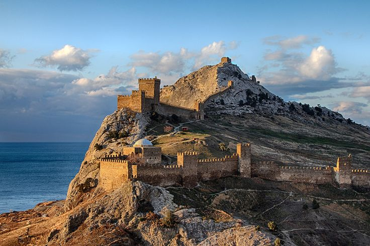 Crimea.Sudak.Genoese fortress.