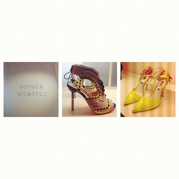 Who said shoes couldn't be art? Sophia Webster's creations are gorgeous!