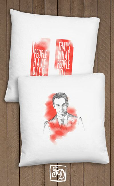 Moriarty  BBC SHERLOCK  pillow by FeerieDoll on Etsy, $20.00