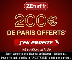 ZEturf : bonus de 200 euros disponible à nouveau | Actualités | BetComparative.com