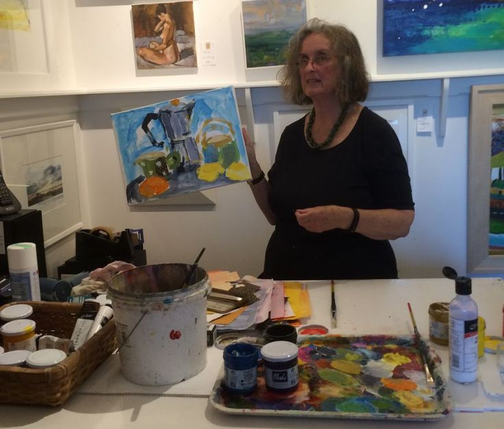 ART CREATION WITH SUSAN DUNSTER