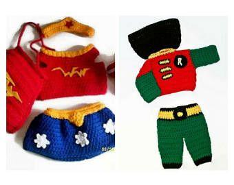 Bebés gemelos de gemelos recién nacidos trajes, superhéroes de bebé, Foto Prop, accesorios de bebé infantil