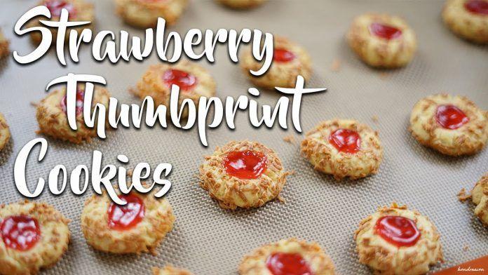 Resep Dan Cara Membuat Strawberry Thumbprint Cookies By Hendraacen Resep Makanan Dan Minuman Resep Biskuit Resep