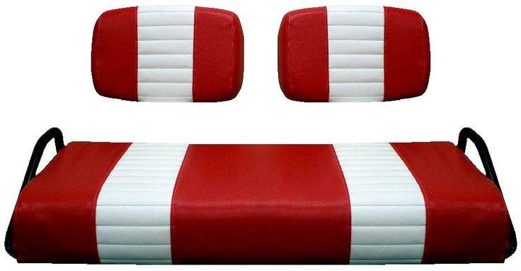 Club Car Pre-2000 Golf Cart Custom Vinyl Seat Cover - ZIPS ON!