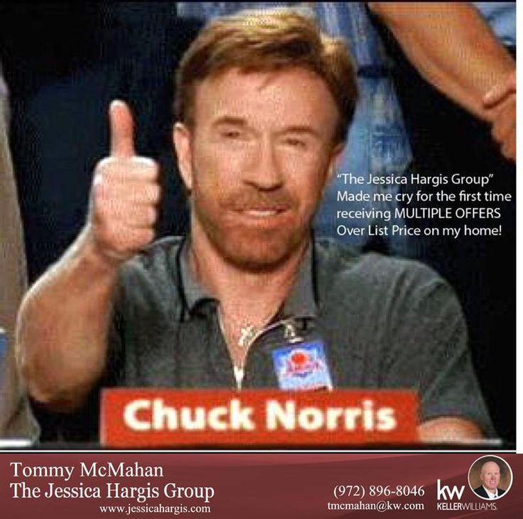https://flic.kr/p/xNhjqK | Chuck Norris said it...now let's get that house listed!