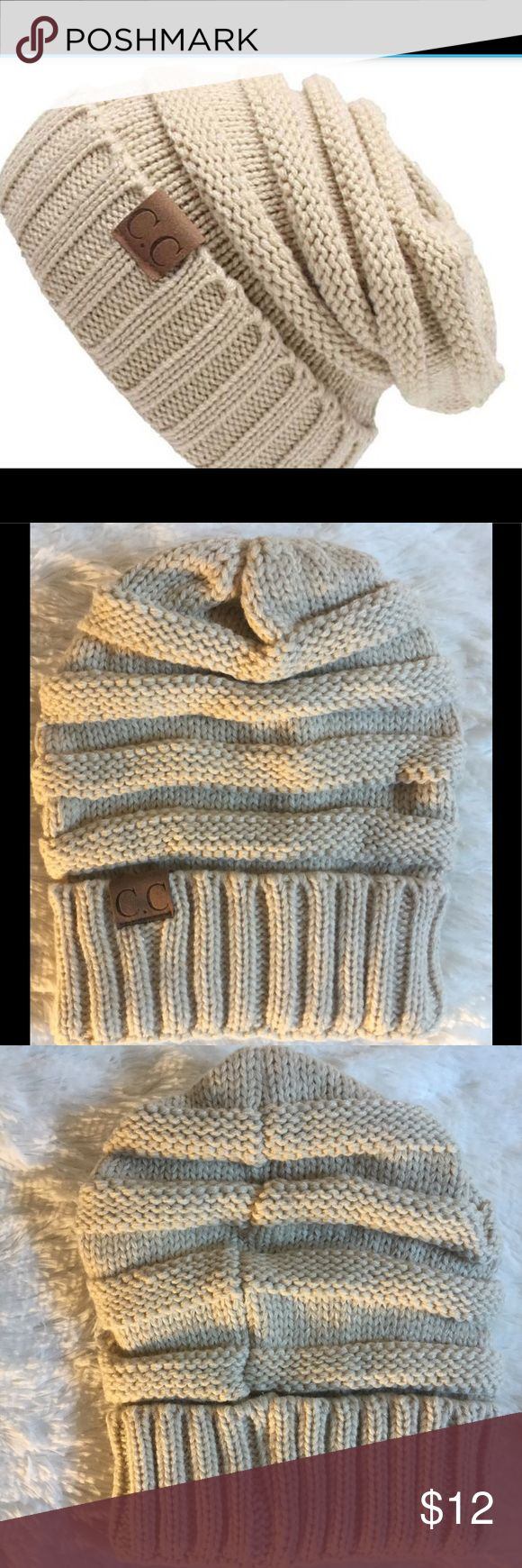 Knitted wool women's beanie hat brand new This stylish hat is brand new in package and comes from a smoke free home.  Would make an excellent gift  .  Buy with confidence I am a top rated seller, mentor and fast shipper.  Don't forget to bundle and save.  Thank you. Accessories Hats