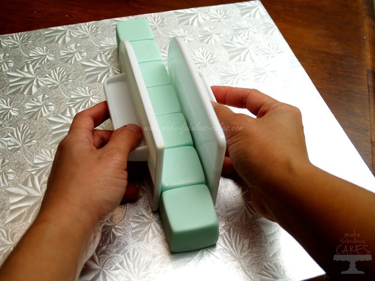 How to Make Fondant Baby Blocks