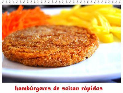 Hambúrgueres de Seitan Rápidos