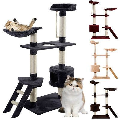 Cat Scratcher Post Tree Activity Centre Scratching Pole