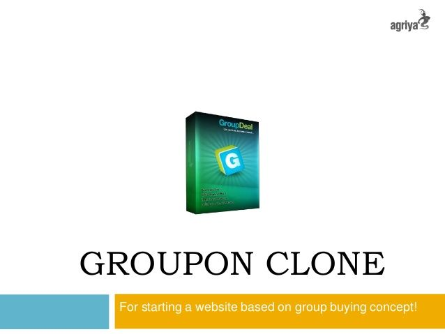 @Agriya Setup your online business easily with Agriya's groupon clone  http://www.slideshare.net/agriya-ahsan/groupon-clone-23275660