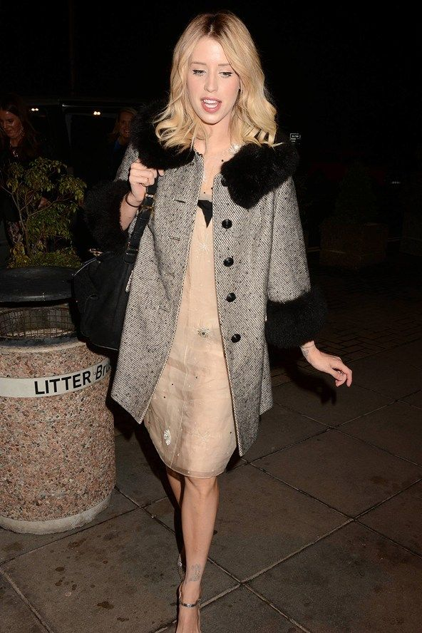 Peaches Geldof (sadly former journalist & television presenter)