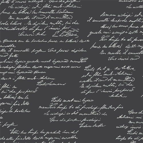 MH1611 York Wallcoverings Joanna Gaines Magnolia Home Noteworthy Wallpaper Black