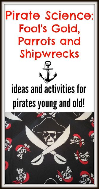 Share it! Science News : Pirate Science! Fool's Gold, Parrots and Shipwreck.... 2