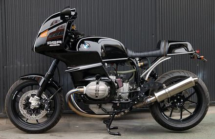 New from Ritmo Sereno: a heavily modified BMW R100RS. Sehr gut!