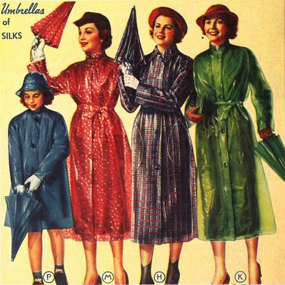 Rainwear from Sears & Roebuck - 1937