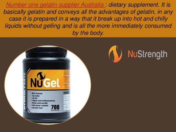 Australia Number One Gelatin Supplier